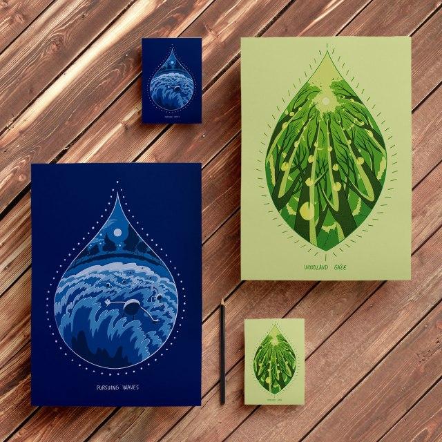 Drosia_illustration_Dream&Color_Wanderlust_Pursuing_Waves_Woodland_Gaze