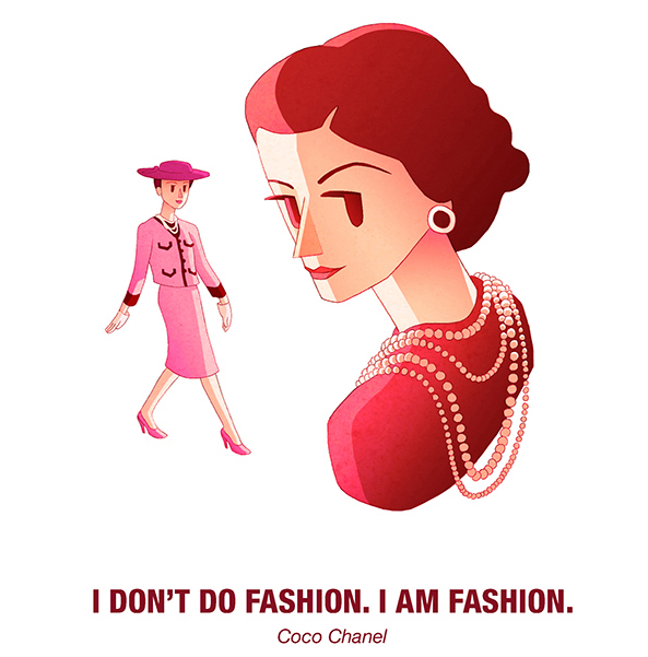 Drosia_illustration_Coco_Chanel_cartoon_quote